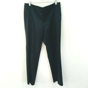 Ralph Lauren Collection Black Wool Dress Pants